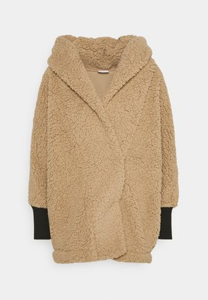 NMCUDDLE COATIGAN - Winter coat - white pepper