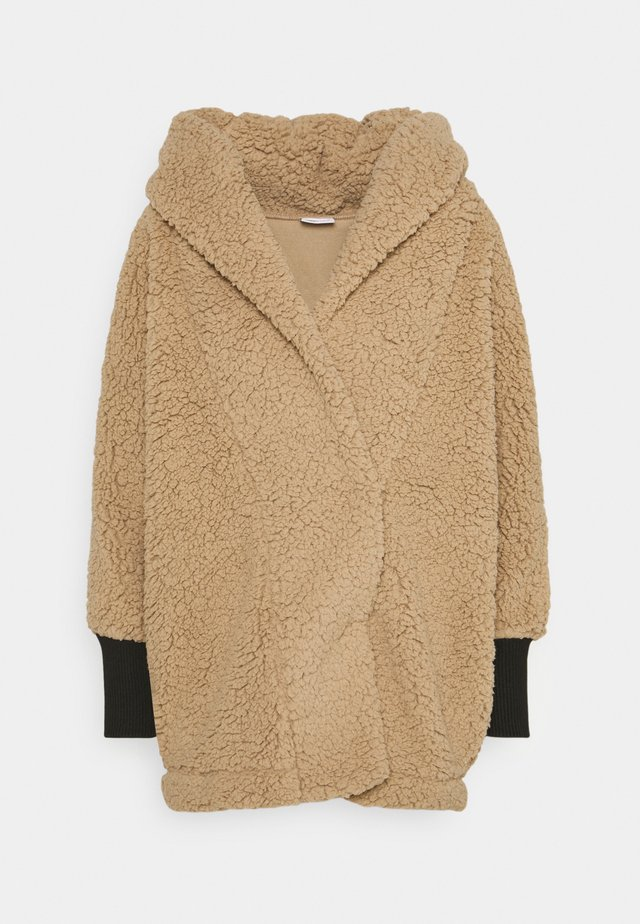 NMCUDDLE COATIGAN - Cappotto invernale - white pepper
