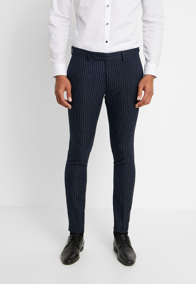 PANTALONE - Suit trousers - blue
