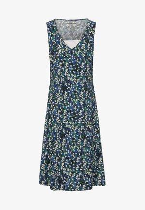 MIT EINSATZ - Jersey dress - royal blue