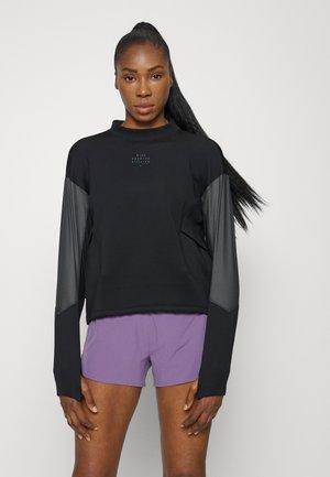 RUN CREW - Sweatshirt - black/iron grey