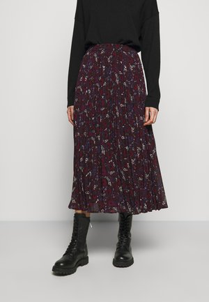 ZINNIA - Pleated skirt - azalea