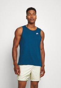 Nike Sportswear - CLUB TANK - Top - blue force - 0