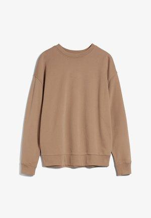 Sweater - smoky almond