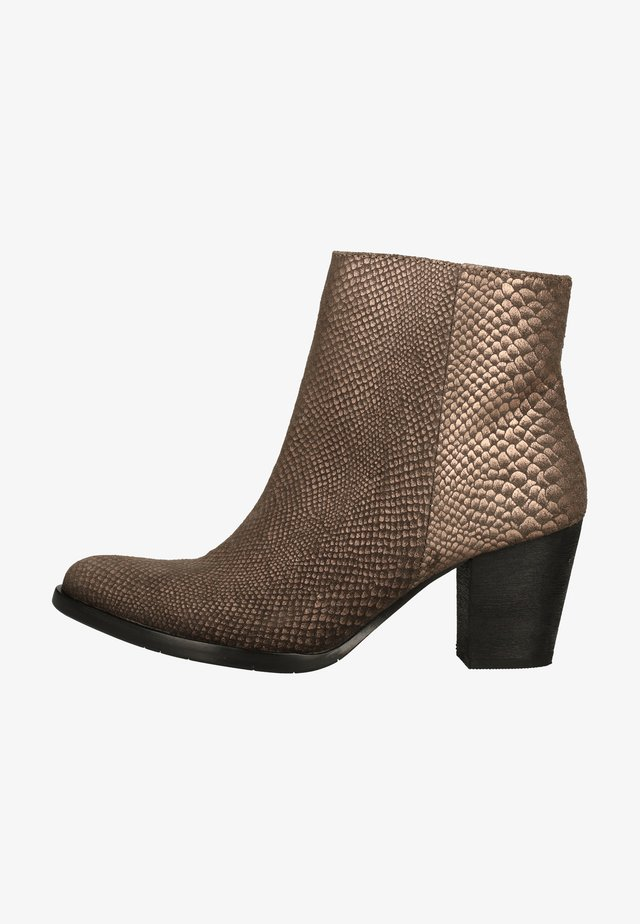 Ankle boots - copper