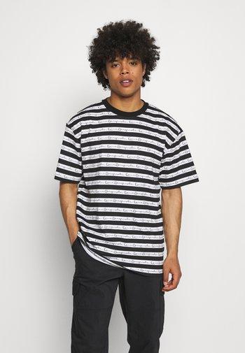 ORIGINALS STRIPE TEE - T-shirt imprimé - white