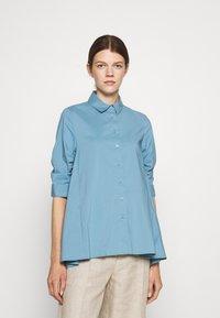 Steffen Schraut - BENITA FASHIONABLE BLOUSE - Button-down blouse - arctic blue - 0
