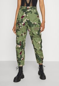 G-Star - TAPERED PATCH POCKET PANT - Trousers - khaki - 0