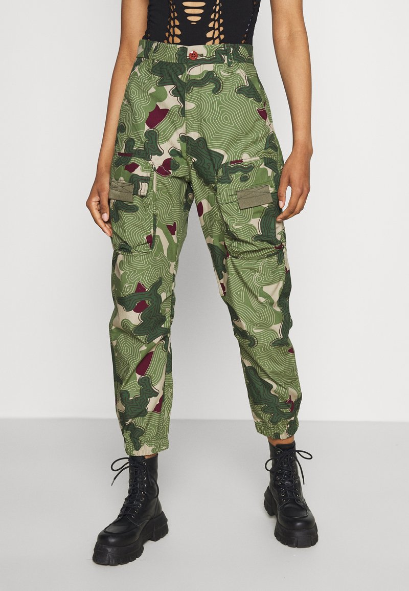 G-Star - TAPERED PATCH POCKET PANT - Trousers - khaki