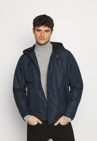Redefined Rebel - RRGALAXY HOOD - Light jacket - navy - 0