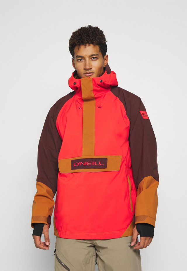 ORIGINAL ANORAK - Hardshell jacket - fiery red