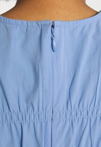 YAS - YASMARVIS LONG DRESS  - Maxi dress - cornflower blue/blue block - 5