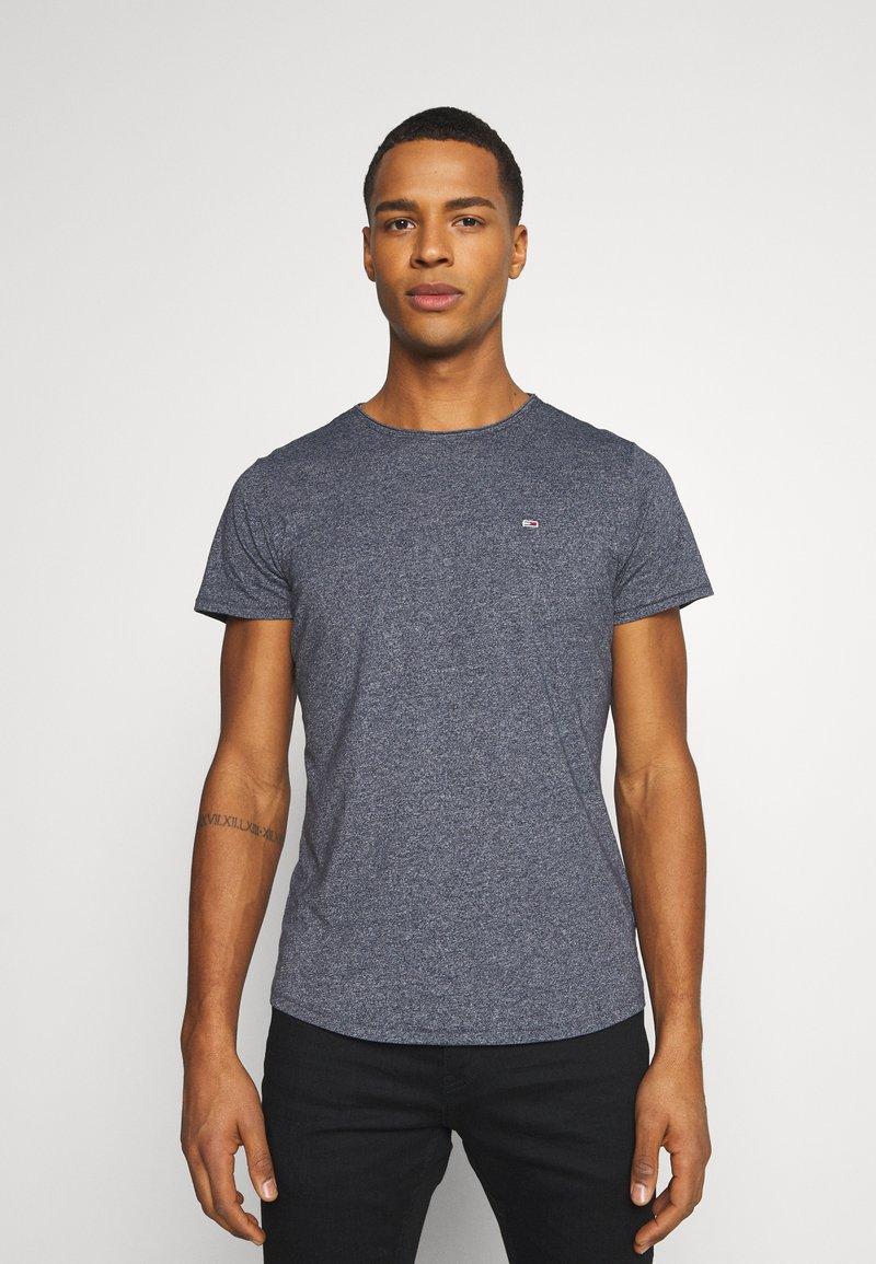 Tommy Jeans - SLIM JASPE C NECK - Basic T-shirt - twilight navy