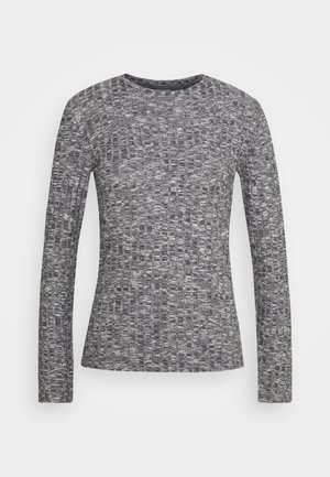 JDYMELISA  - Jumper - dark grey melange