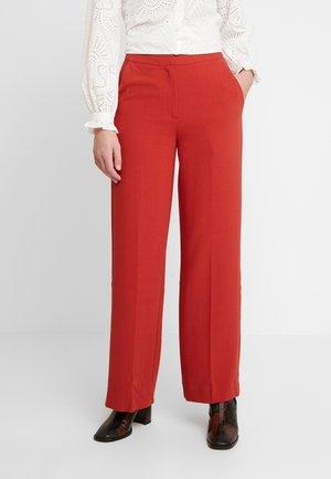 MOORE PANTS - Trousers - burned orange