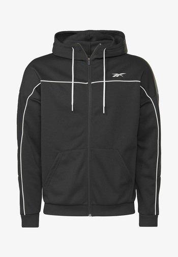 WORKOUT READY - Zip-up sweatshirt - black