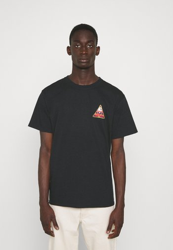 ALTERED STATE TEE - Print T-shirt - black