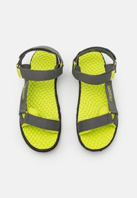 Kappa - UNISEX - Walking sandals - grey/lime - 3