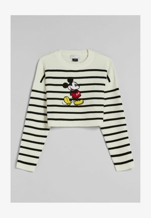 MIT MICKEY MOUSE - Pullover - beige