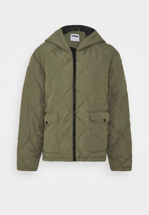 NMFALCON JACKET - Lehká bunda - dusty olive
