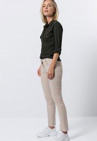zero - Button-down blouse - olive green - 1
