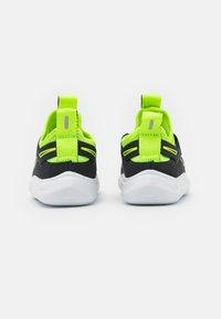 Nike Performance - FLEX PLUS UNISEX - Neutral running shoes - dark smoke grey/volt/white - 2