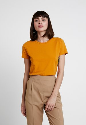 SOLLY TEE SOLID - T-Shirt basic - inca gold