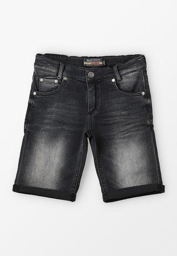 BOYS BASIC - Shorts di jeans - black medium