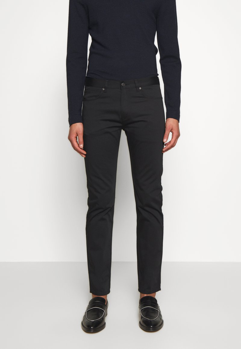 HUGO - Trousers - black