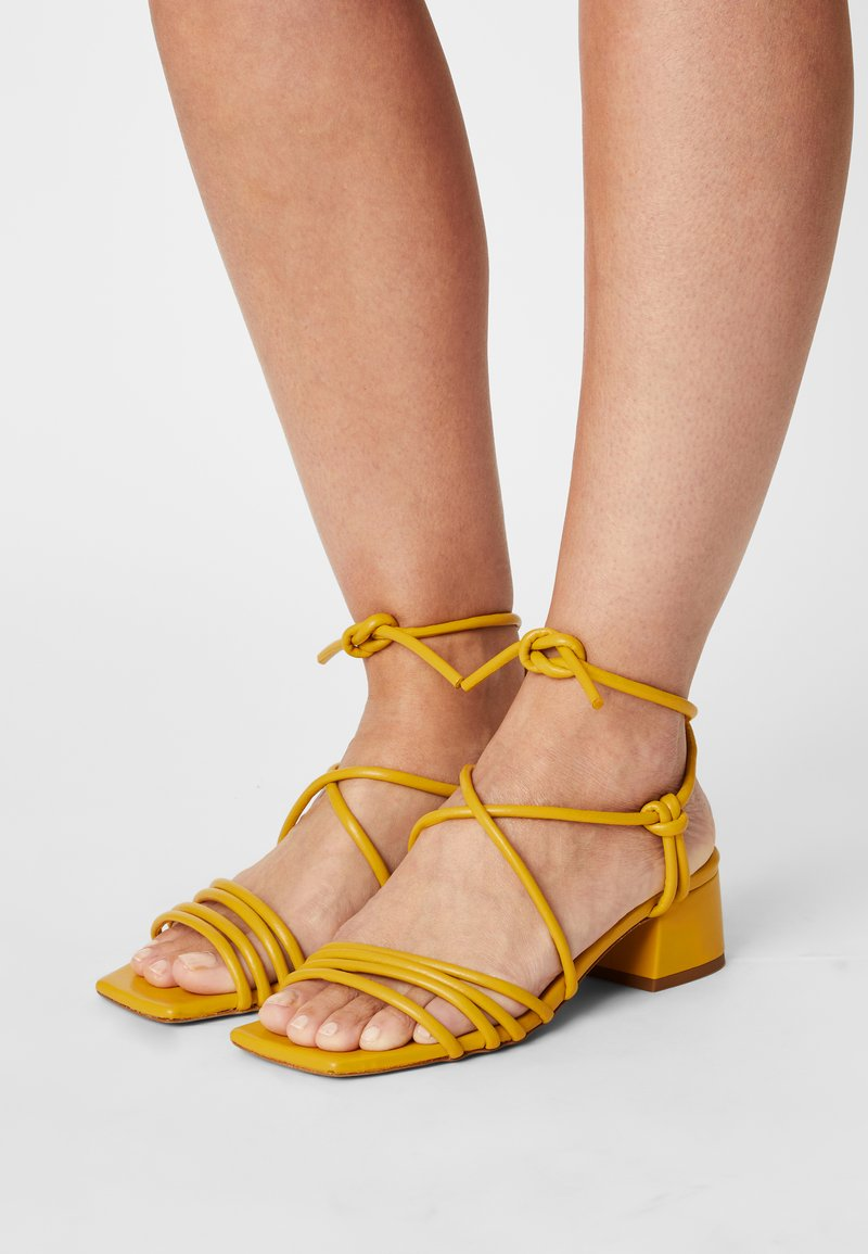 Toral - Sandals - yellow