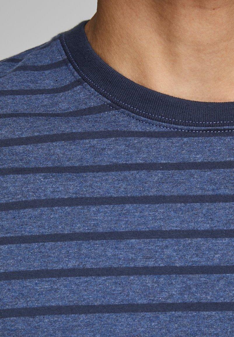 Jack & Jones Print T-shirt - denim blue xZLW4