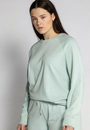 Sweatshirt - aqaua mint
