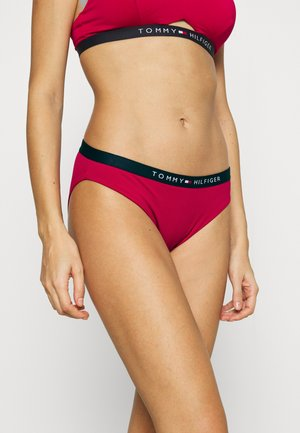 CORE SOLID LOGO CLASSIC - Bikini bottoms - ruby jewel