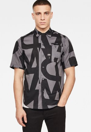BRISTUM 1PKT SERVICE STRAIGHT - Shirt - lt shadow art deco
