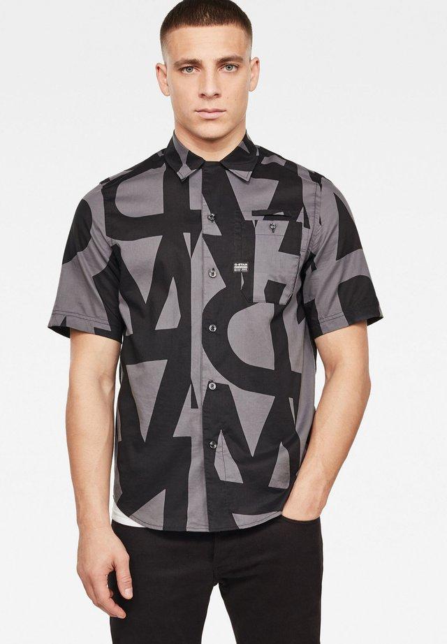BRISTUM 1PKT SERVICE STRAIGHT - Overhemd - lt shadow art deco