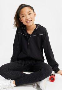 WE Fashion - Sweater met rits - black - 1