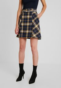 edc by Esprit - SOFT - A-line skirt - navy - 0