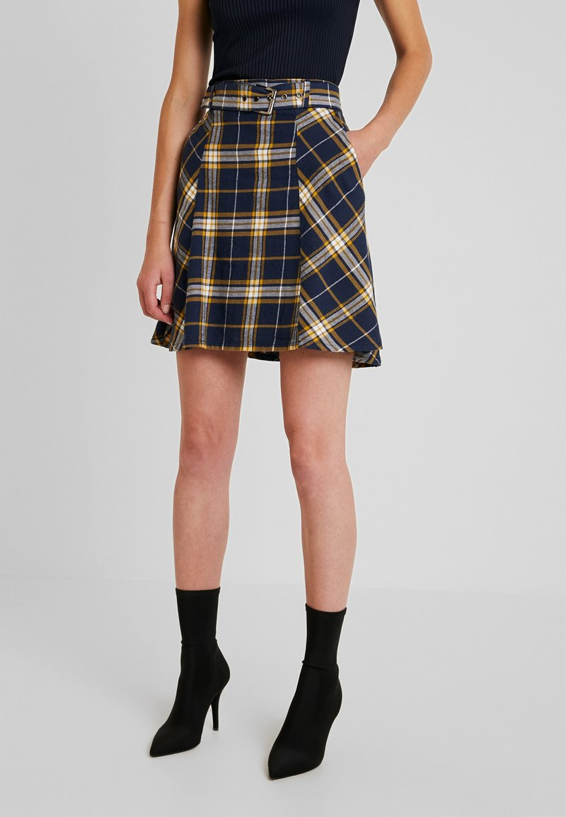 edc by Esprit - SOFT - A-line skirt - navy