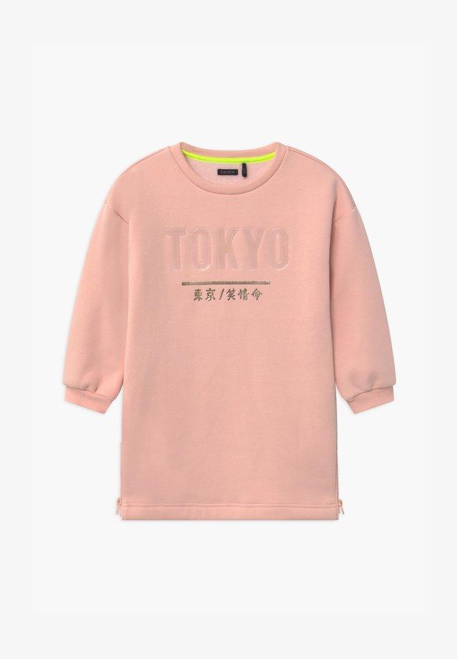 TOKYO SIDE ZIP DETAIL - Vapaa-ajan mekko - rose poudré