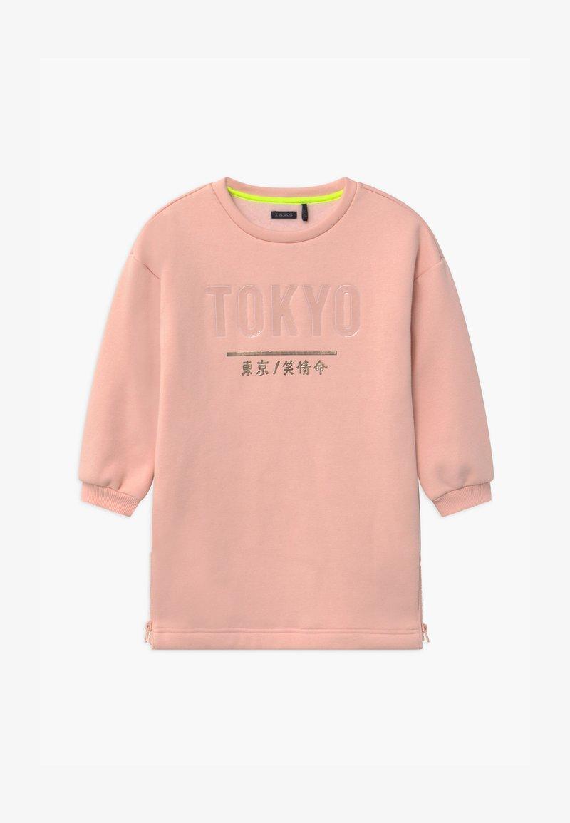 IKKS - TOKYO SIDE ZIP DETAIL - Robe d'été - rose poudré