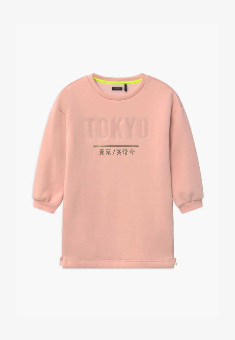 IKKS - TOKYO SIDE ZIP DETAIL - Denní šaty - rose poudré