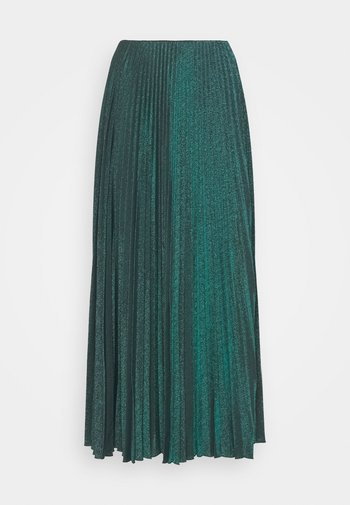 LONG SKIRT - Maxi skirt - carob