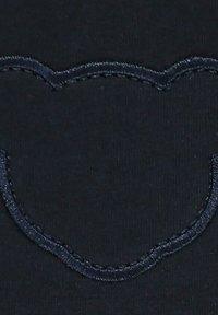 Steiff Collection - STEIFF COLLECTION JOGGINGHOSE MIT TEDDYBÄRFÖRMIGEN KNIESCHONERN - Tracksuit bottoms - black - 2