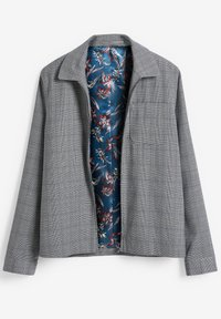 Next - CHECK SHACKET - Blazer jacket - light grey - 3