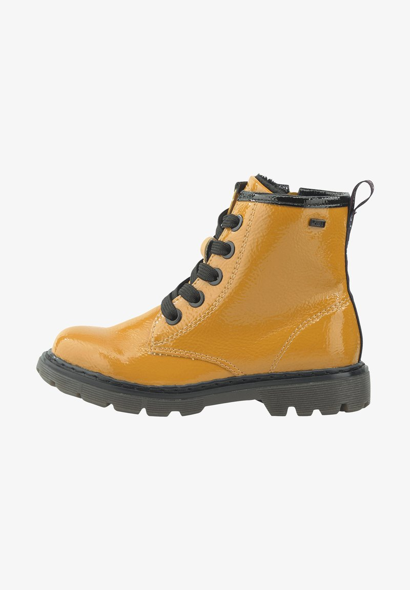 TOM TAILOR - Lace-up ankle boots - yellow