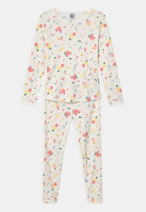FRUIT PRINT - Pyjama set - marshmallow
