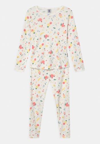 FRUIT PRINT - Pyjama set - marshmallow