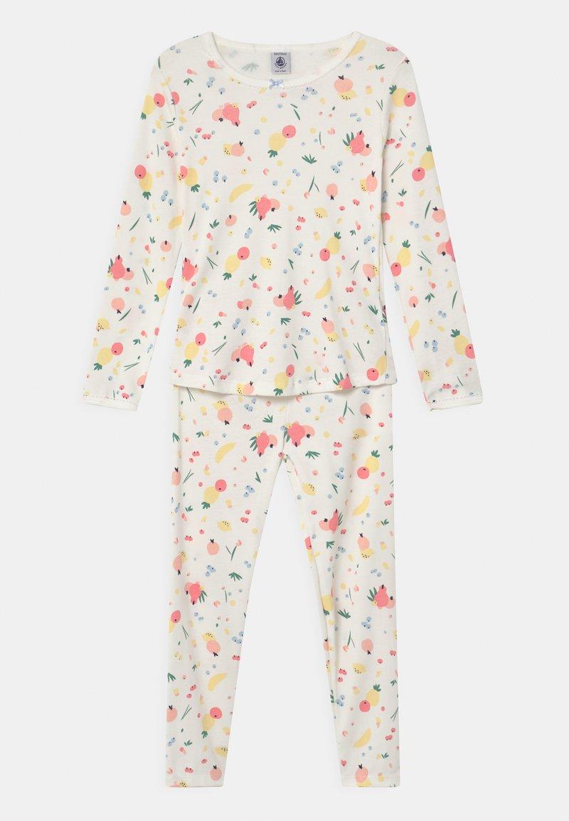 Petit Bateau - FRUIT PRINT - Pyjama set - marshmallow