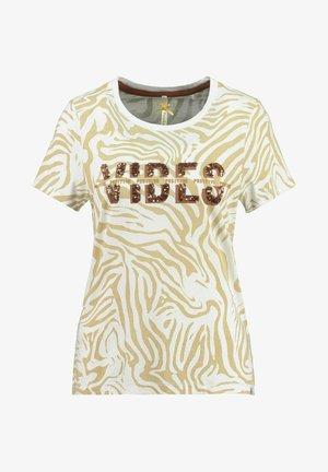 WT CLUB - Print T-shirt - sand