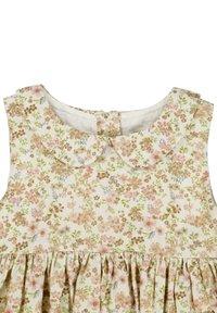 Wheat - Day dress - eggshell flowers - 3